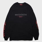 """manipulation""Long Sleeve(Red)"