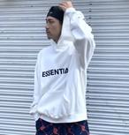 ESSENTIALS / FRONT LOGO HOODIE