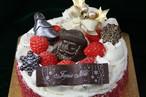 飾りの選べるショートケーキ12cm