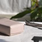 革のカードボックス