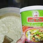 グリーンカレーペースト green curry paste แกงเขียวหวาน กระปุก แม่พลอย 400g