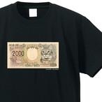 猫紙幣 Tシャツ