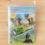 【チェコ】 チェコのキャラクター 「Krtek クルテク」 Make-a-Scene ステッカーセット