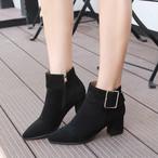 【shoes】絶妙なヒールの高さで履きやすい大人っぽいブーツ24977765
