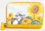 アートカードケース ひまわり 猫のダヤン