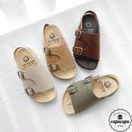 «予約» double monk sandal 4colors ダブルモンクサンダル