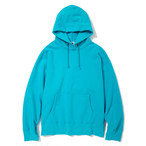 "Just Right ""TD P/O Hoodie"" Teal Blue"