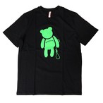 【SKANDHAL】VENEZIA クマ Tシャツ 【ブラック】【新作】イタリアンウェア【送料無料】《M&W》