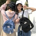 【送料無料】ナチュラルで可愛い♡ リュック バックパック トートバッグ 2way