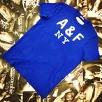Abercrombie&Fitch MENS Tシャツ ブルーMサイズ