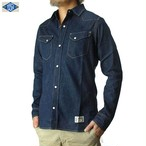 017003001(DENIM WESTERN SHIRTS)INDIGO