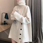 【tops】人気爆発中ファッションハイネックセーター24933552