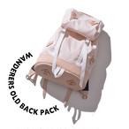 Wanderers old back pack [ Beige ]