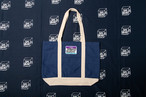 CRASTY 2TONE TOTE BAG (NAVY)