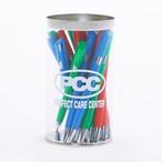 「PCC」ボールペン レッド