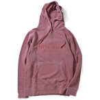 MOANDMO Pigment Dyed Hoodie / Red