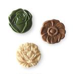 flower medal ivory系☆  (お花メダル アイボリー系)raw chocolate