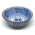 【砥部焼/梅山窯】鍋小鉢(十草菊紋)