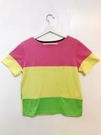 Colorful Tee【カラフル2WAY Tシャツ】05