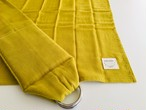 丸洗いできるベビースリング・日本製コットンダブルガーゼ100% 黄色