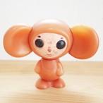 【ロシア】 チェブラーシカ プラスチックドール (茶色) プラスチック人形 プラドール チェブラーシュカ