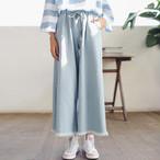 loose wide pants 1224