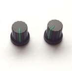 【マグネット】シンセツマミ型マグネット 黒×グリーン Synth Knob Magnet SKM