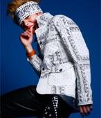 EFFECTEN(エフェクテン)efazi-00-Paisley pattern tailored jacket ジャケット