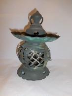 七宝文透釣灯籠 bronze hanging bronze tempe lamp(No1)