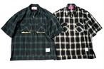 EFFECTEN(エフェクテン) ombre check work shirts