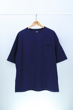 ATOMONE` BIG silhouette Pocket Tee [NAVY]