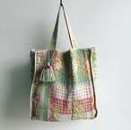 タッセル付 Antique 'Sashiko' Bag #new1