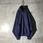 [used] emblem pointed nylon jacket