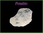 ペタライト原石G
