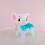 *再入荷【lapin&me × KODAMA】Little Cuties Blue Elephant 青いゾウさん
