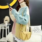 【tops】フェアリー風配色上品質セーター