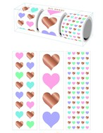 All Heart 3-roll Sticker Gift Box