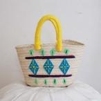 pattern embroidered basket
