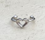 Heart dot phalange RING #0126