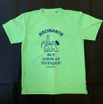 hs-46 ATHLETICS 『ROCINANTE』 T-SHIRT ・ライムグリーン