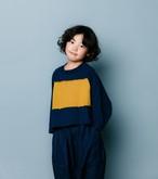 nunuforme ヌヌフォルム ワイドショートT col:Navy size:135