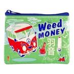【Blue Q/ブルーキュー】コインケース「Weed Money」