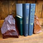 【水牛革】レザーストーン Lサイズ〈3色展開) 本革 インテリア雑貨 ブックエンド オブジェ