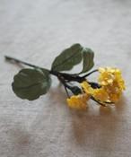 菜の花ブローチ evi-051