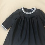 【オーダー制作】 ponte black dress/black/110cm、120cm