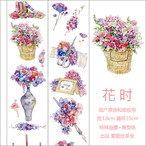 花時【爱丽丝茶会】剥離紙 特殊インク