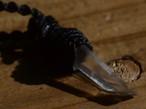 レムリアンシードクリスタル原石マクラメペンダント(CASA BLESSING®︎)L07-0001