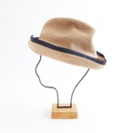 mature ha./BOXED HAT 101SWE mixbrown×navy