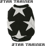星柄トレーナー