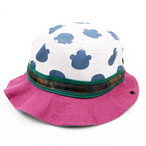 BEAR PRINT HAT(KME-000-166015)